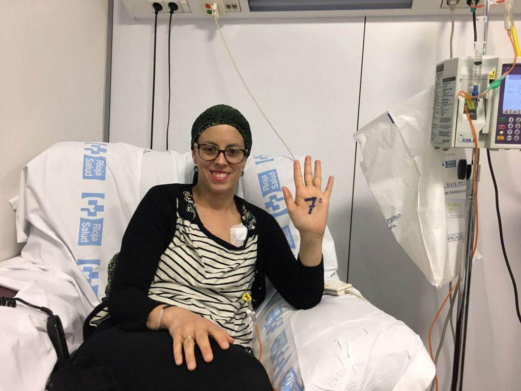 Septima quimioterapia (tercera de taxol) (7/16)