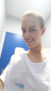Primera sesión de radioterapia (1/18) 2
