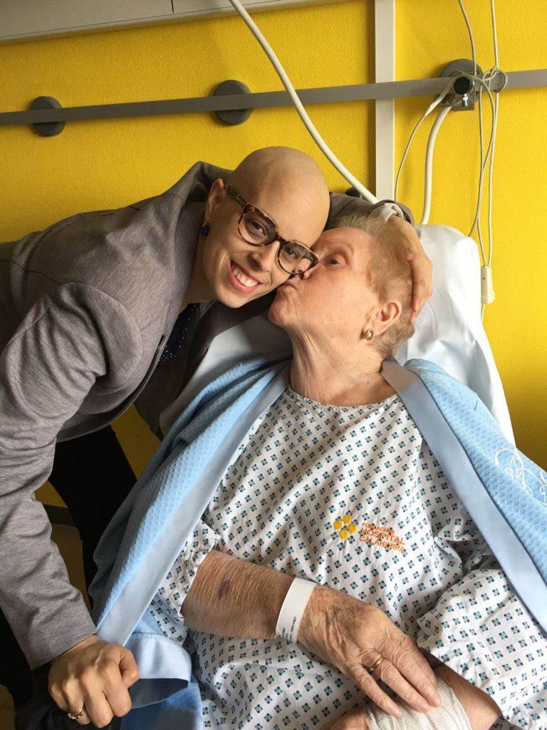 Visita a mi abuela en el hospital de Calahorra