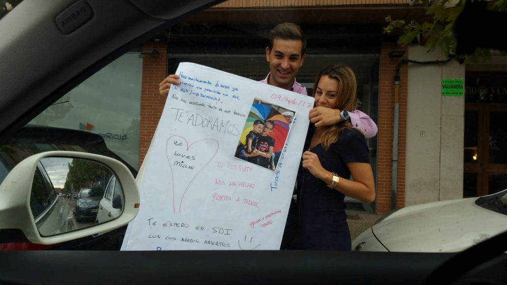 Ultimo día de radio y ahí estaban Marcos y Silvia 1