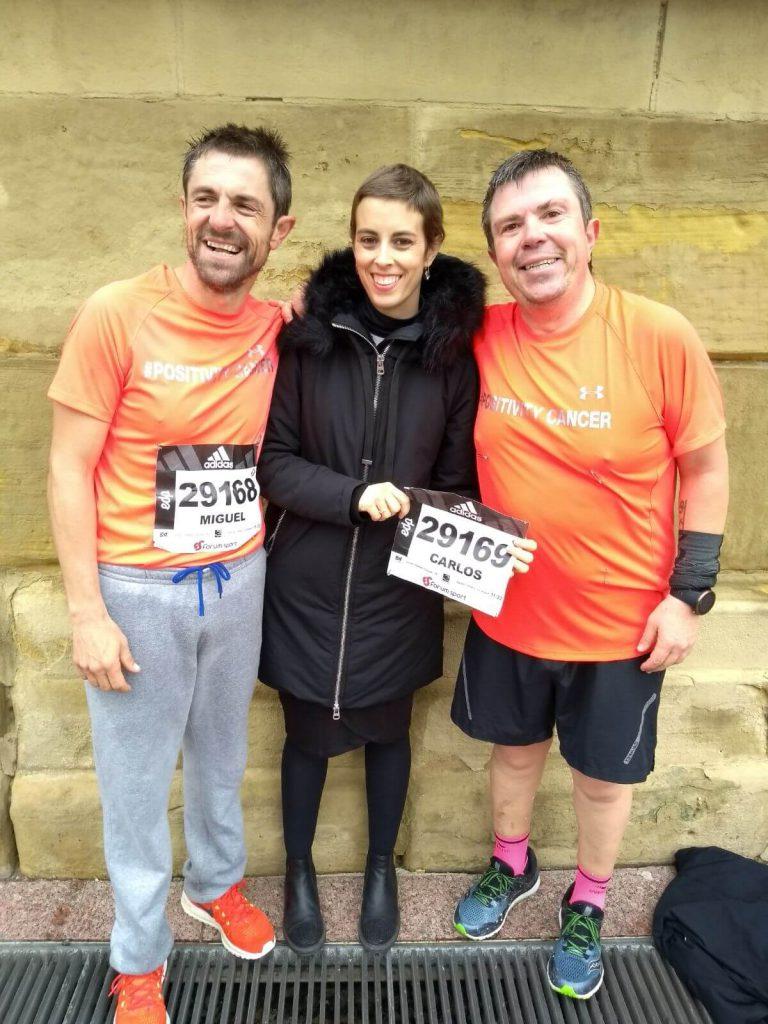 Behovia - San Sebastián carrera por positivitycancer 2