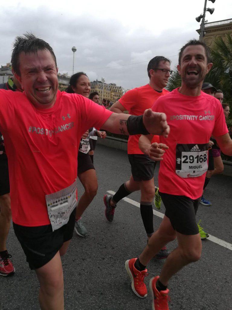 Behovia - San Sebastián carrera por positivitycancer 1