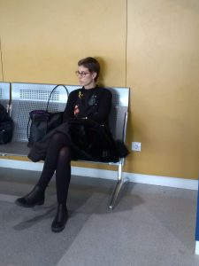 Nervios esperando a la oncóloga