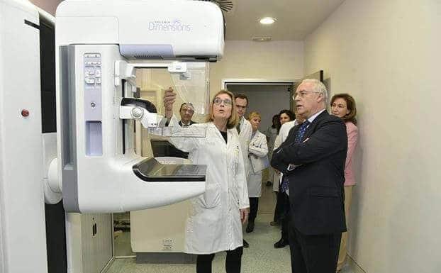 Nuevo mamógrafo instalado en Logroño