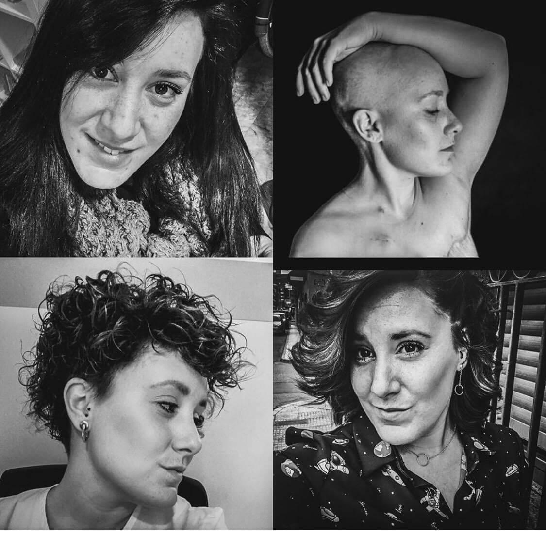 El collage más emotivo sobre el cáncer de mama 1