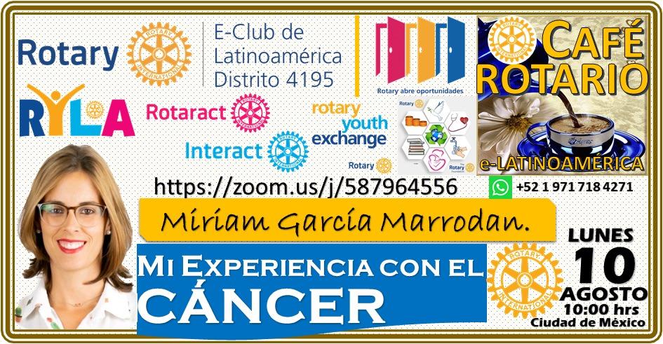 Evento positivitycancer.es con Rotary club, Ciudad de México 1